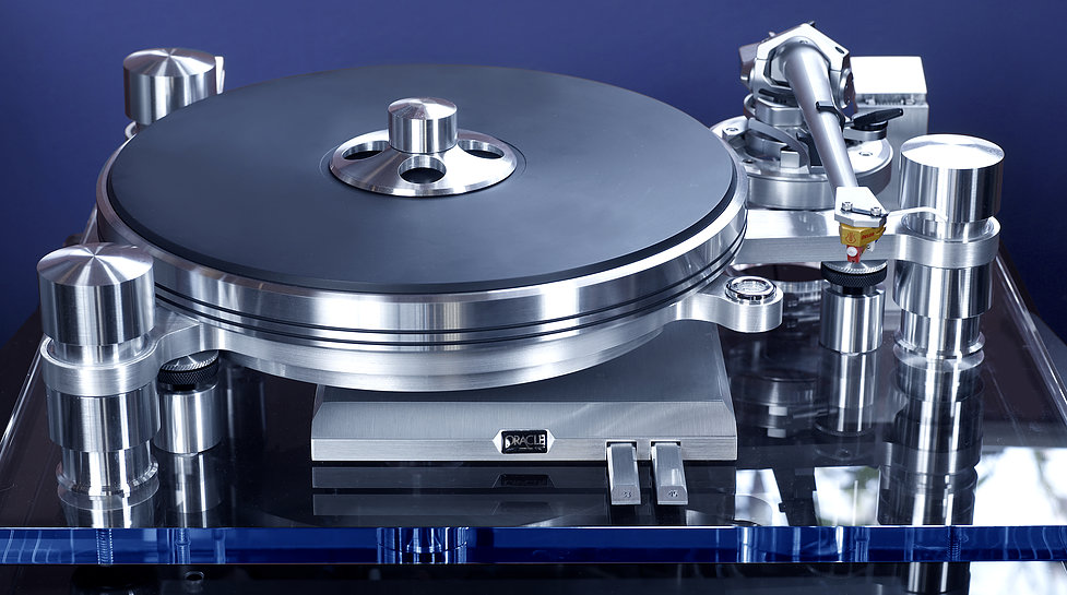 Oracle Delphi Mk VI Turntable Image